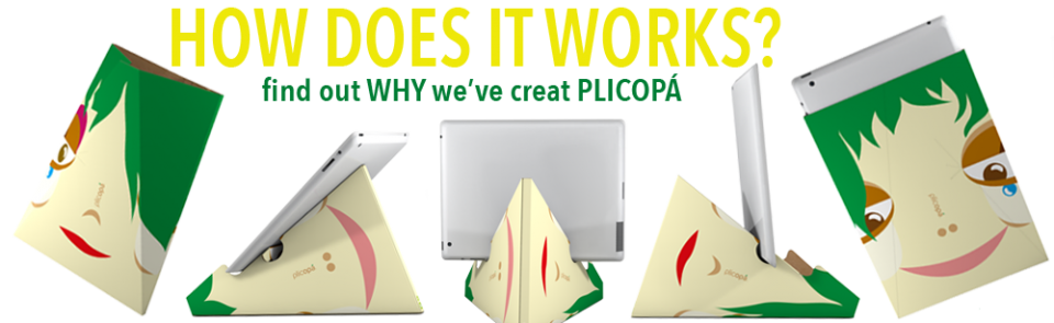 Plicopá: the iPad's Best friend!